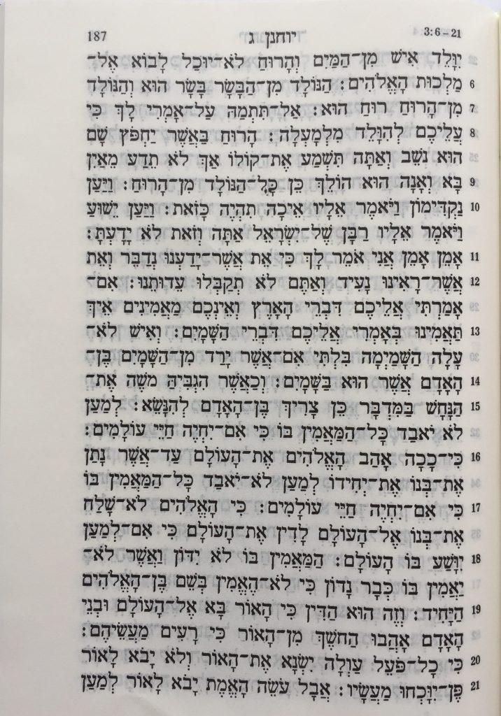 Johannes Hoofdstuk 3